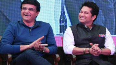 BCCI President Sourav Ganguly Confirms 'Trying to Bring Sachin Tendulkar' for IND vs BAN Day-Night Test at Eden Gardens