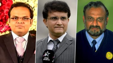Sourav Ganguly & Brijesh Patel Strong Contenders for BCCI Office-Bearers, Amit Shah Son Jay Shah Could Also Sneak In
