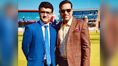 VVS Laxman Congratulates Sourav Ganguly for Being Elected As BCCI President, Says 'No Doubt Indian Cricket Will Continue to Prosper Under Dada'