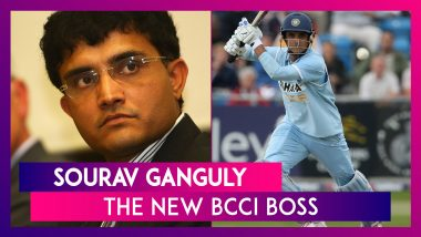Sourav Ganguly As BCCI President: Dada Walks In With Fans' Hopes Riding On His Shoulders