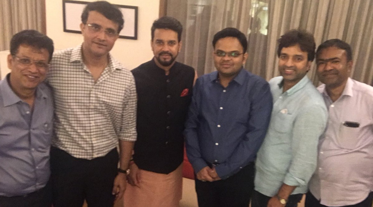 Sourav Ganguly, New BCCI President, Posts Picture With Jay Shah and Anurag Thakur, Hopes to Work Well With The 'New Team'