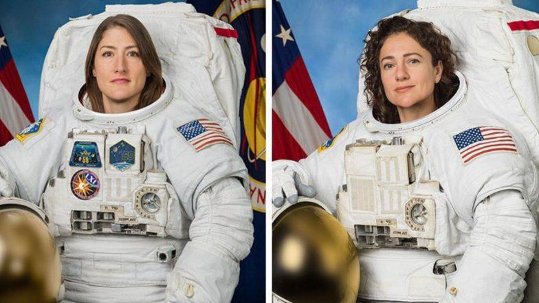 NASA's 1st All-Female Spacewalk: Christina Koch and Jessica Meir Set to Participate