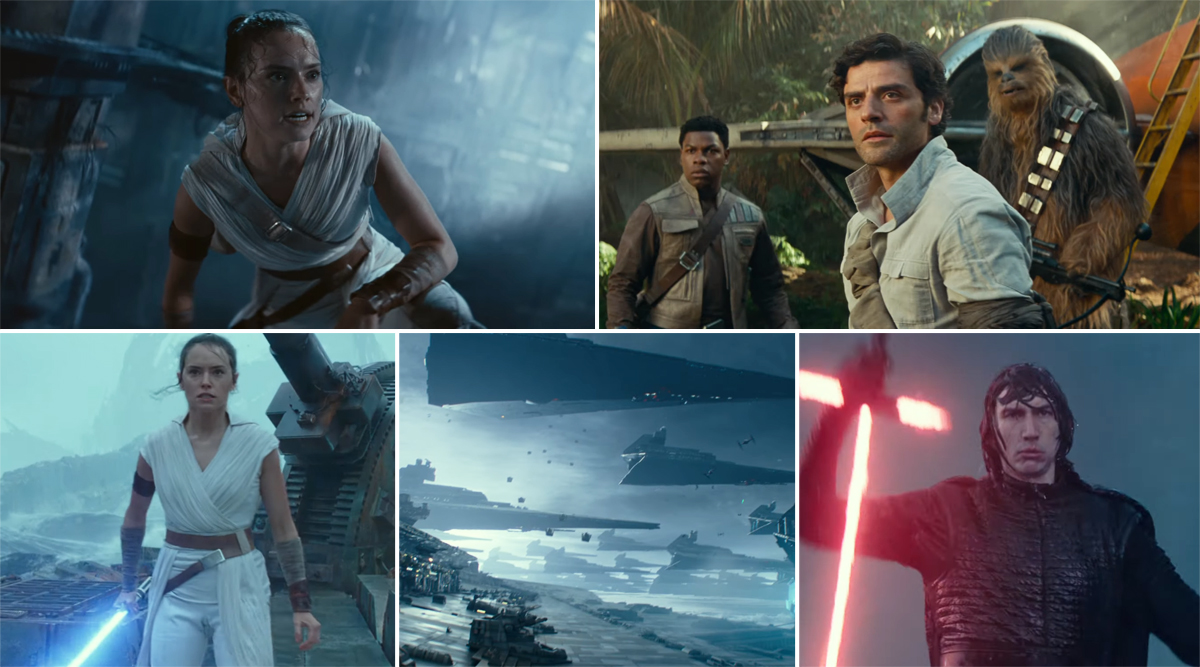 Star Wars: The Rise of Skywalker Final Trailer: Daisy Ridley's Rey Sets out on a Mission to Fight a War and End a Beautiful Era (Watch Video)