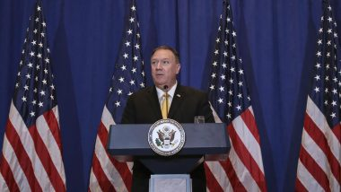 Mike Pompeo Lauds India's Decision to Block 59 Chinese Apps, Says 'Clean App' Approach Will Boost Sovereignty, National Security