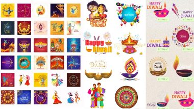 Diwali 2019 WhatsApp Stickers: How To Download Deepawali Stickers on Your Android & iOS Phones For Free