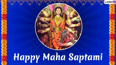 Maha Saptami 2020 Date, Shubh Muhurat & Significance: Know More About Maha Snan & Nabapatrika Puja Observed on the Day During Durga Puja