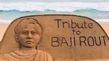 Baji Rout, India's Youngest Martyr Paid Homage With a Captivating Sand Art: Know Everything About Odisha Boat Boy on His 93rd Birth Anniversary