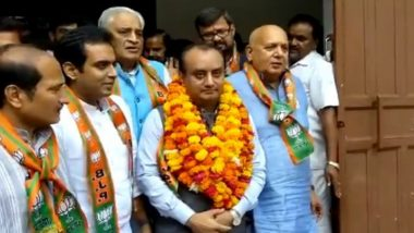 Sudhanshu Trivedi, BJP National Spokesperson, Elected Unopposed to Rajya Sabha From Uttar Pradesh