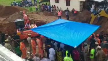 Sujith Wilson, Trapped In Borewell In Tamil Nadu's Tiruchirappalli: Rescue Operations Underway As NDRF Team Attempts To Save Two-Year-Old Boy, Watch Live Streaming