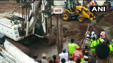 Sujith Wilson, Trapped In Borewell In Tamil Nadu's Tiruchirappalli: Rescue Operations Intensify As Boring Machine Reaches Spot, 110ft Borewell to be Drilled