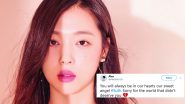 Sulli, f(x) K-Pop Singer Found Dead at 25, Twitter is Devastated by Her Sudden Demise!