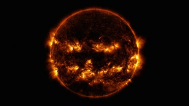 NASA's Picture of The Sun Released Around Halloween 2019 Looks Like a Creepy Jack-o-Lantern! (View Pic)