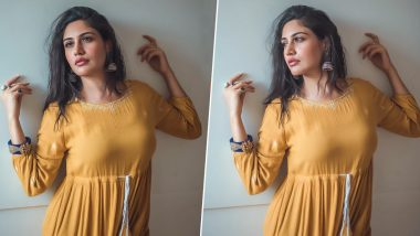 Sanjivani 2 Actress Surbhi Chandna Stuns in an All-Yellow Traditional Attire (View Pics)