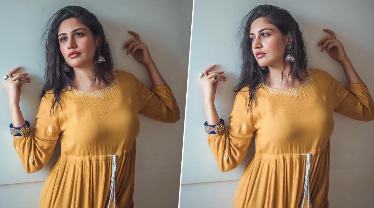 Sanjivani 2 Actress Surbhi Chandna Stuns in an All-Yellow Traditional Attire (View Pics)