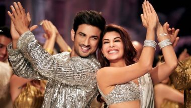 Drive Song Prem Pujari: Sushant Singh Rajput and Jacqueline Fernandez Sizzle in Silver For This Wedding Song!