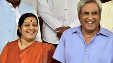 Sushma Swaraj Insisted on Undergoing Kidney Transplant at Delhi's AIIMS, Said Going Abroad Will Hurt National Pride, Reveals Her Husband