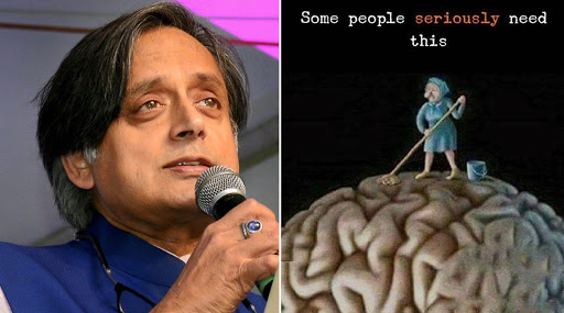 Shashi Tharoor Gets Trolled For His Swachh Bharat Diwas 2019 Twitter Post