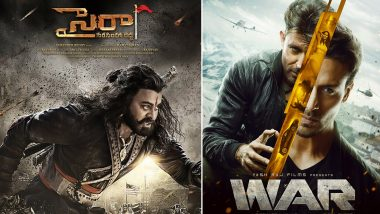 Box Office: Did Chiranjeevi, Nayanthara's Sye Raa Narasimha Reddy Beat Hrithik Roshan, Tiger Shroff's War on Opening Day? Read Deets!