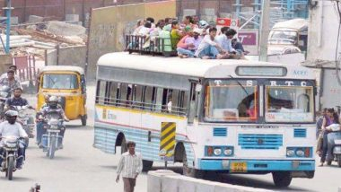 TSRTC Strike in Telangana: Protest Enters Sixth Day, Union Leaders of Lorry, Taxi Extend Support to RTC Union to Intensify Stir