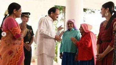 'Saand Ki Aankh': Bhumi Pednekar-Taapsee Pannu Thank Vice President Venkaiah Naidu for Appreciating Their Work