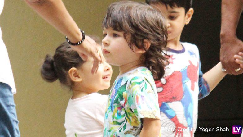Kareena Kapoor Khan Spends Happy Time With Taimur Ali Khan, Inaaya Naumi Kemmu and Other Kids! (View Pics)