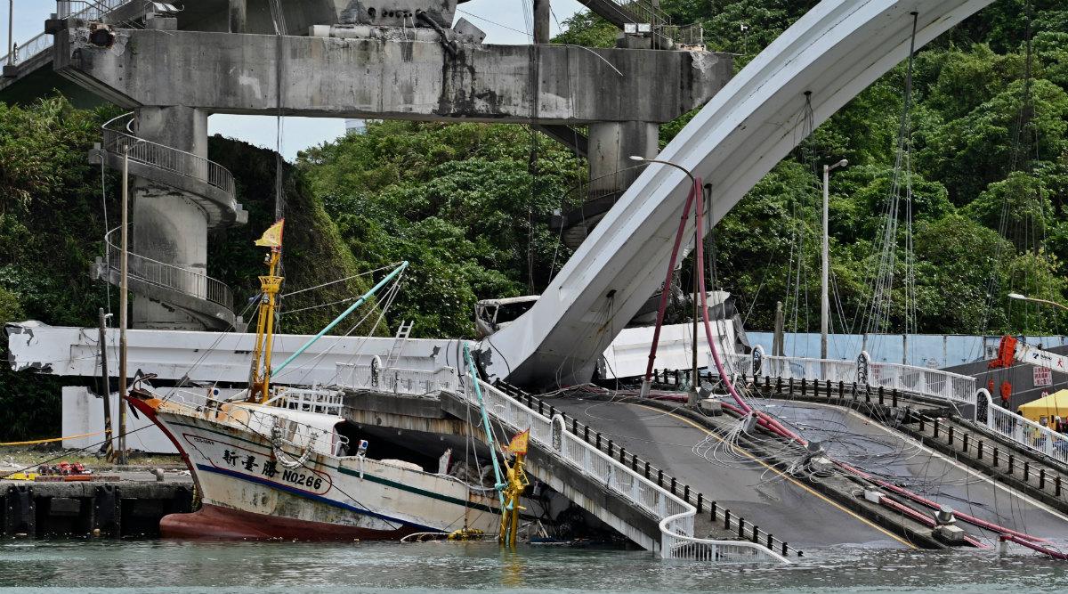 Taiwan Bridge Collapse Update: Five Bodies Found, One Still Missing