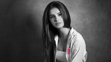 Tara Sutaria Sports Pink Ribbon For Breast Cancer Awareness Month 2019, Shares Important Message in Instagram Post