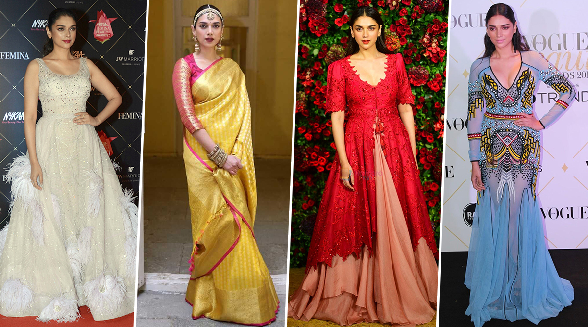Aditi Rao Hydari Birthday Special: The Padmaavat Actress' Fashion Choices are as Royal as her Lineage (View Pics)
