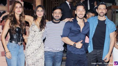 War Success Party: Disha Patani Joins Tiger Shroff, Hrithik Roshan and Vaani Kapoor to Celebrate the Success of the Epic Action Drama (View Pics)