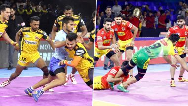 Telugu Titans Vs Gujarat Fortunegiants  PKL 2019 Match Free Live Streaming and Telecast Details: Watch TEL vs GUJ, VIVO Pro Kabaddi League Season 7 Clash Online on Hotstar and Star Sports