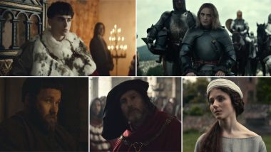 The King Trailer: Timothée Chalamet's King Henry V Goes to War With Robert Pattinson's French Ruler in the New Promo (Watch Video)