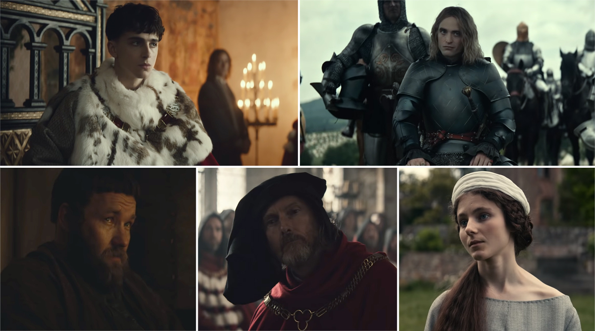 The King Trailer:Timothée Chalamet's King Henry V Goes to War With Robert Pattinson's French Ruler in the New Promo (WatchVideo)