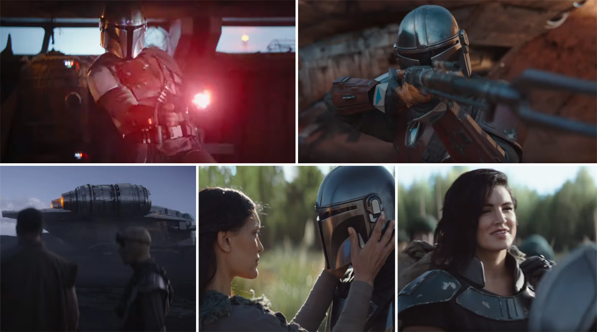 The Mandalorian Trailer: The Star Wars Universe Series Gets an Action-Packed New Promo (Watch Video)