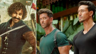 Hrithik Roshan and Tiger Shroff's War Beats Aamir Khan's Thugs Of Hindostan On Day 1 At The Box Office