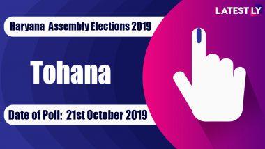 Tohana Vidhan Sabha Constituency Election Result 2019 in Haryana: Devender Singh Babli of JJP Wins MLA Seat in Assembly Polls