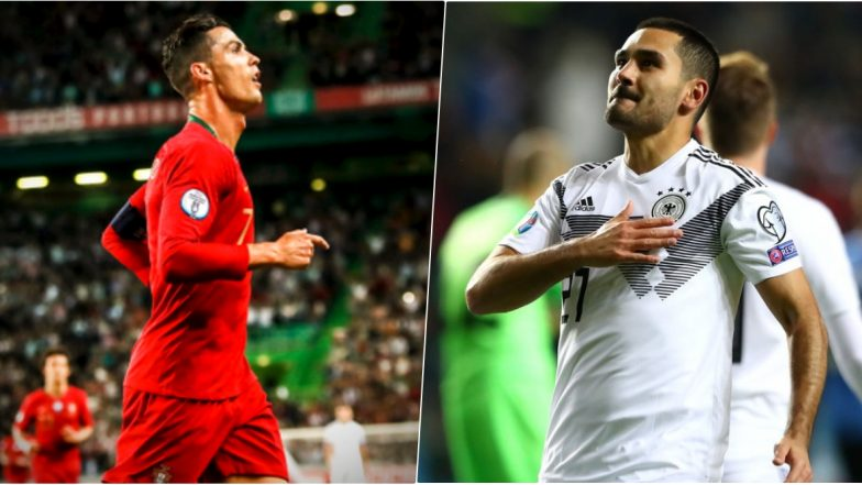Top 5 Goals of the Week: From Cristiano Ronaldo vs Luxembourg to Ilkay Gundogan vs Estonia, Watch Videos of the Best of Football Goals