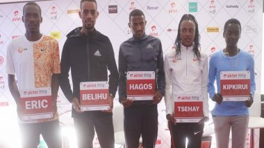 Ethiopian Tsehay Gemechu Smashes Own Delhi Half Marathon Record