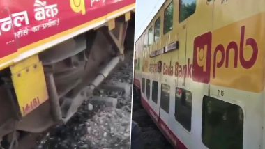 Two Coaches of Lucknow-Anand Vihar Double-Decker Train Derail Near Moradabad