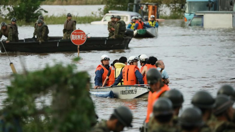 Typhoon Hagibis: 14 Dead, 9 Other Missing After Storm Hits Japan, Rescues Operation Underway