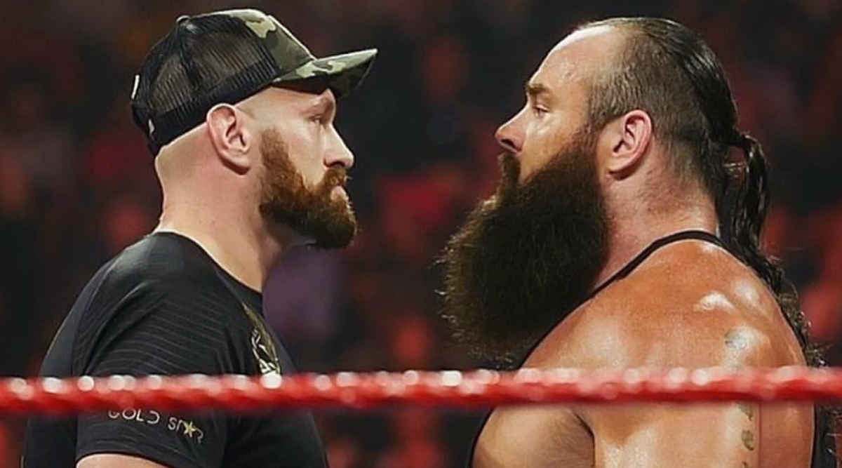 WWE Crown Jewel 2019: Tyson Fury Defeats Braun Strowman by Count Out in His Debut Match