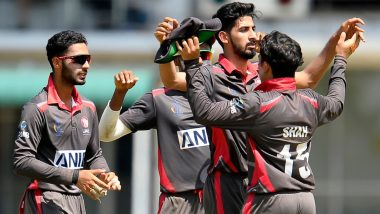 Live Cricket Streaming of UAE vs USA, ODI 2019 Online: Watch Free Live Telecast of ICC Cricket World Cup League 2 Series United Arab Emirates vs United States of America Match