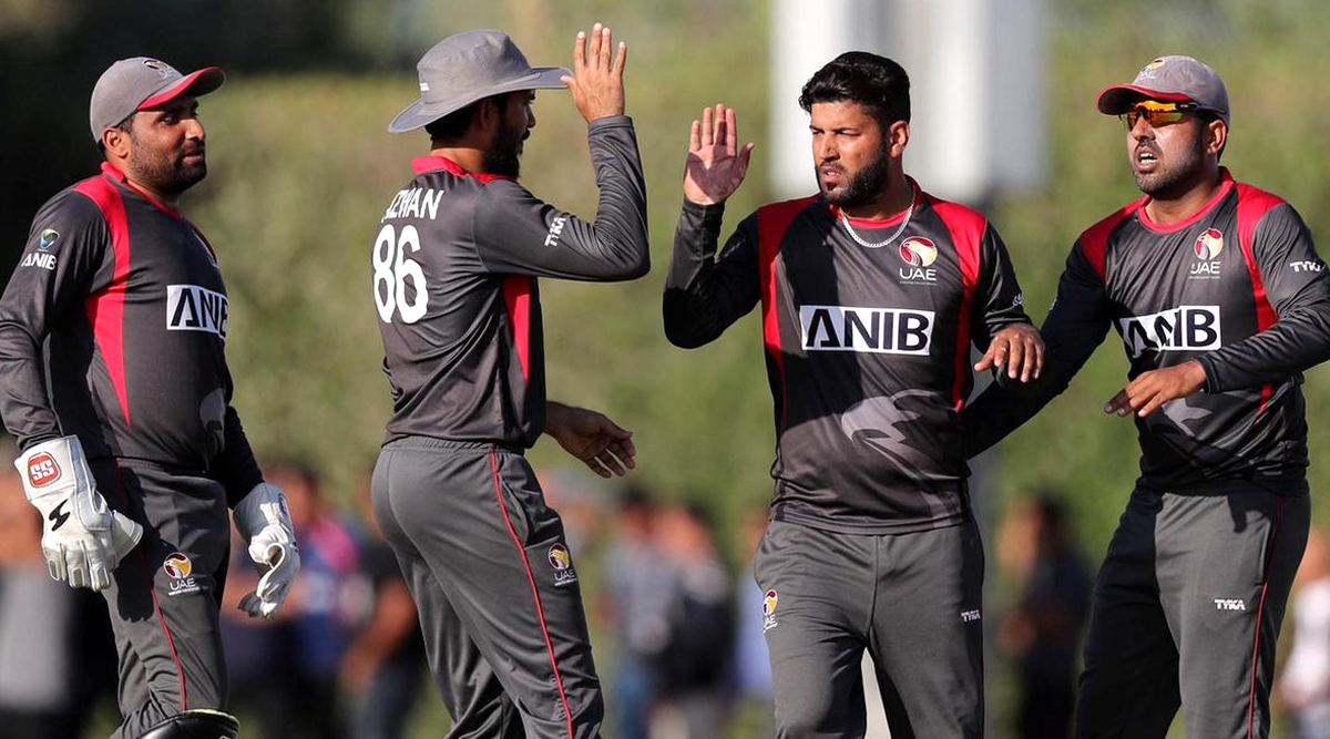 Live Cricket Streaming of United Arab Emirates vs Oman, ICC T20 World Cup Qualifier 2019 Match on Hotstar: Check Live Cricket Score, Watch Free Telecast of UAE vs OMA on TV and Online