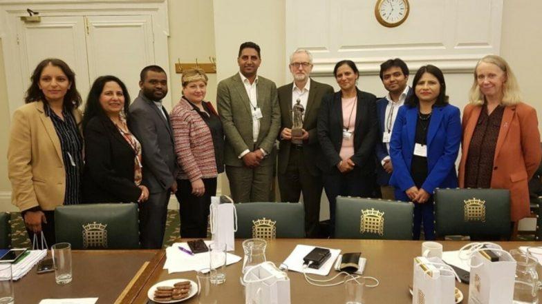 UK Congress Delegation Meets Labour Party Leader Jeremy Corbyn Over Kashmir, BJP Calls Move 'Shameful'