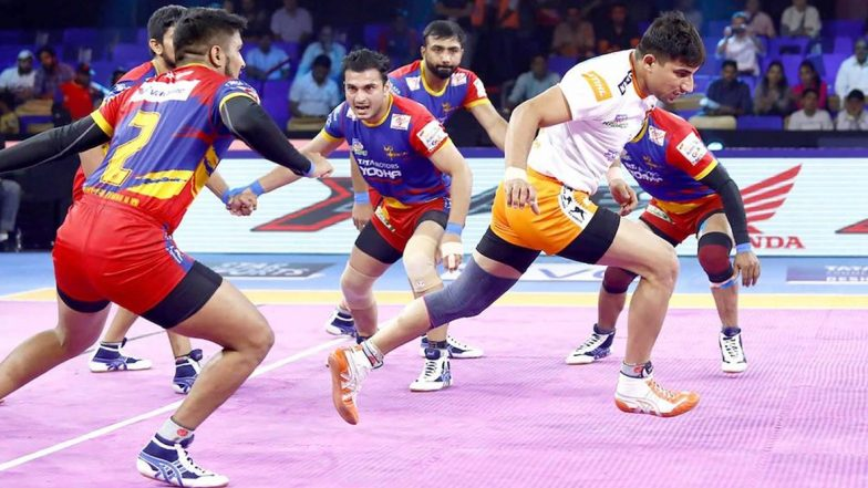 PKL 2019 Dream11 Prediction for UP Yoddha vs Telugu Titans: Tips on Best Picks for Raiders, Defenders and All-Rounders for UP vs TEL Clash