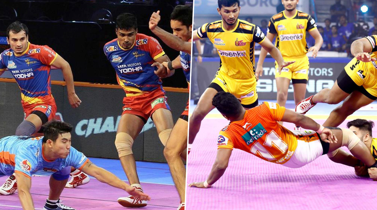 UP Yoddha Vs Telugu Titans PKL 2019 Match Free Live Streaming and Telecast Details: UP vs TEL, VIVO Pro Kabaddi League Season 7 Clash Online on Hotstar and Star Sports