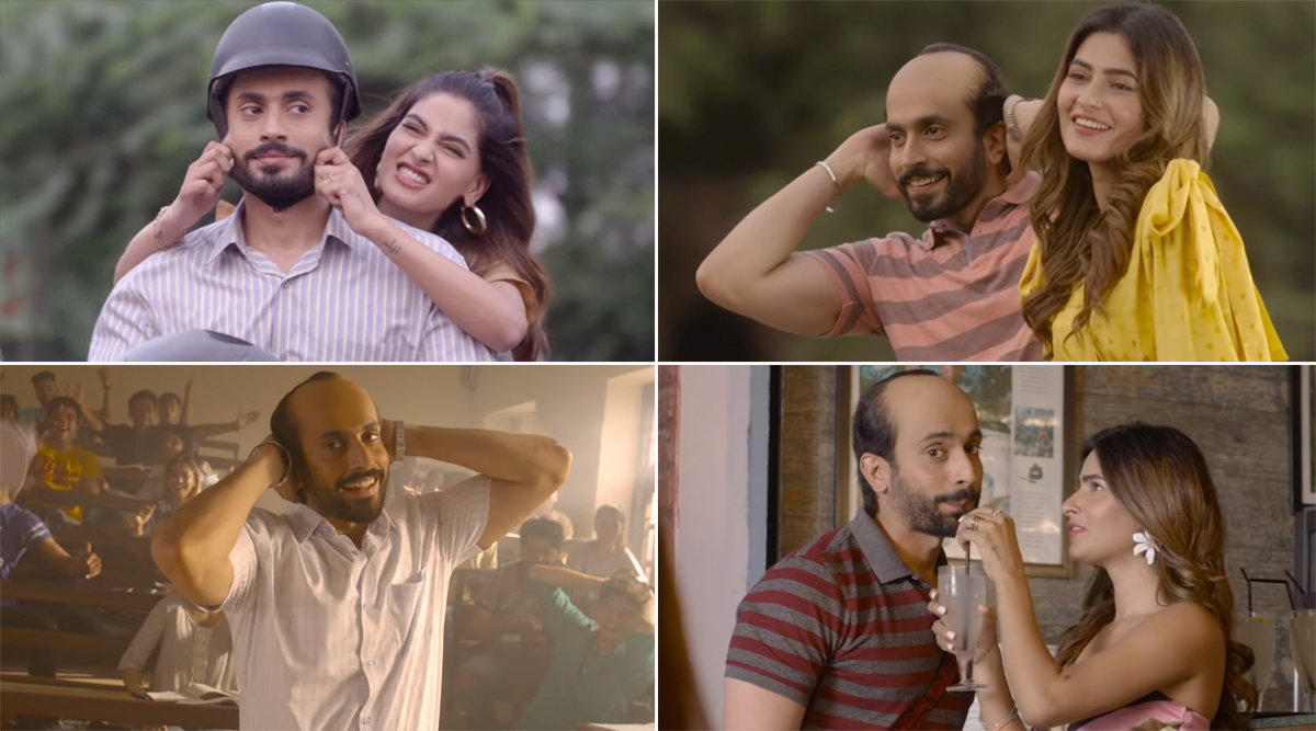 Ujda Chaman Song Twinkle Twinkle: Sunny Singh aka Chaman Kohli Can't Contain His Happiness As He Chills Out With a Young Girl (Watch Video)