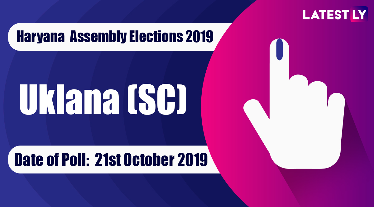 Uklana (SC) Vidhan Sabha Constituency Election Result 2019 in Haryana: Anoop Dhanak of JJP Wins MLA Seat in Assembly Polls