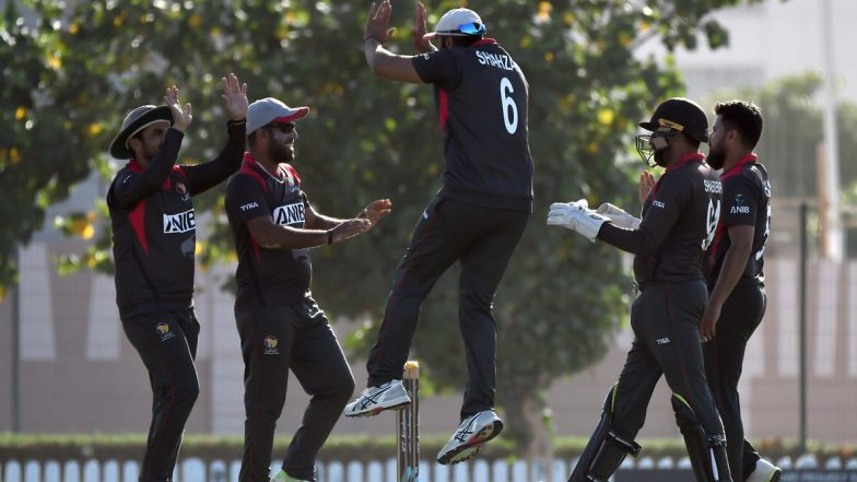 Live Cricket Streaming of United Arab Emirates vs Hong Kong, ICC T20 World Cup Qualifier 2019 Match on Hotstar: Check Live Cricket Score, Watch Free Telecast of UAE vs HK on TV and Online