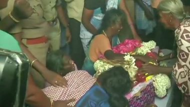 Sujith Wilson, 2-Year-Old Infant Trapped in Tamil Nadu's Tiruchirappalli Borewell For 3 Days, Found Dead in a Decomposed State