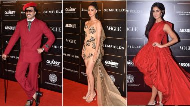 Vogue Women Of the Year 2019 Winners' List: Katrina Kaif, Ananya Panday Win Top Honours, Ranveer Singh Bags Man of the Year